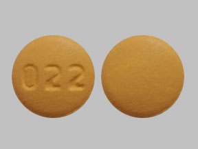 Cyclobenzaprine hydrochloride 10 mg 022