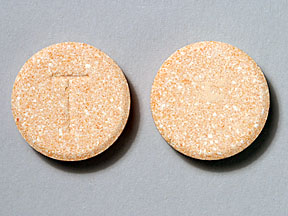 Pill Imprint T (Potassium Bicarbonate 25 MEQ)