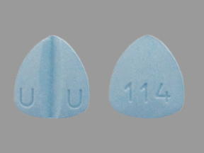 Lamotrigine 200 mg U U 114