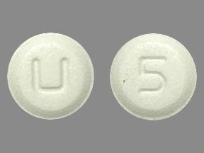 Amlodipine besylate 5 mg U 5