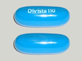 Pill Imprint Divista 110 (Divista with Vitamin B Complex and chromium)
