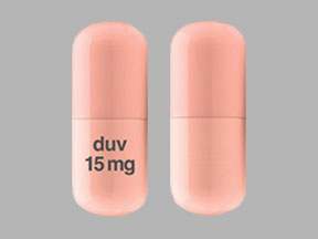 Pill Imprint duv 15 mg (Copiktra 15 mg)