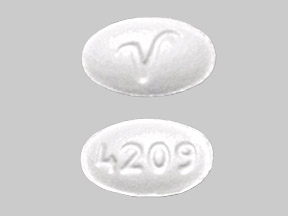 Lisinopril 2.5 mg 4209 V