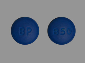 Pill Imprint BP 850  (L-Methyl-MC vitamin B complex with folic acid)