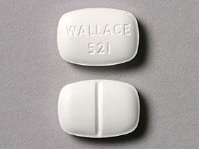 Pill Imprint WALLACE 521  (Lufyllin 200 mg)