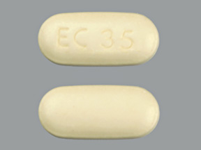 Pill Imprint EC 35  (Atelvia risedronate sodium delayed-release 35 mg)