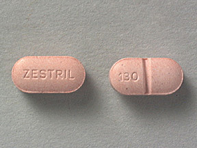 Pill Imprint ZESTRIL 130 (Zestril 5 mg)