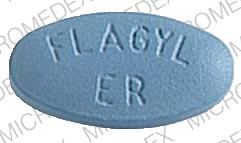 Flagyl ER 750 mg SEARLE 1961 FLAGYL ER Front