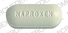 Naproxen 500 MG 500 NAPROXEN Front