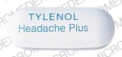 Tylenol headache plus extra strength acetaminophen 500 mg / calcium carbonate 250 mg TYLENOL Headache Plus