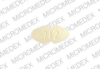Pill Imprint 712 S P (Uniretic 12.5 mg / 7.5 mg)