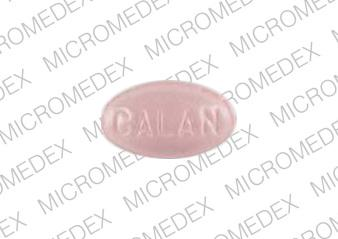 Calan SR 120 mg CALAN SR120 Back