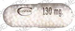 Pill Imprint 130 C CENTRAL (THEOCLEAR L.A.-130 130 MG)