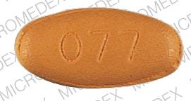 Pill Imprint 077 (Therapeutic plus vitamin )
