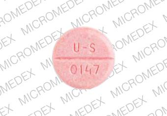 Pacerone 200 mg P200 U-S 0147 Back