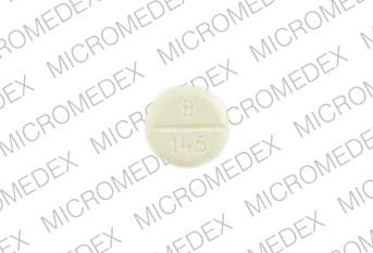 Pill Imprint B 145 (Digitek 125 mcg (0.125 mg))