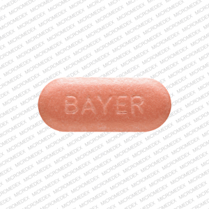 Avelox 400 mg M400 BAYER Front