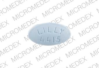 Zyprexa 15 mg LILLY 4415  Front
