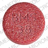Trimox 250 mg BMS 38  Front