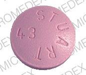 Elavil 100 mg ELAVIL STUART 43 Back