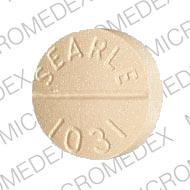 Aldactone 100 mg ALDACTONE 100 SEARLE 1031 Back