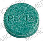 Pill Imprint PEC 121 (Phenerbel-S belladonna extract 0.2 mg / ergotamine 0.6 mg / phenobarbital 40 mg)