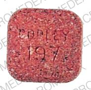 Pill Imprint Copley 197 (Multivitamins with fluoride and iron )
