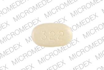 Pill Imprint A CJ 322 (Atacand HCT 32 mg / 12.5 mg)