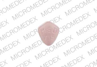 Zocor 10 mg ZOCOR MSD 735 Back