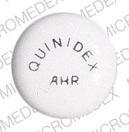 Quinidex extentabs 300 MG QUINIDEX AHR