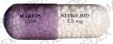 Nitro-bid 2.5 MG MARION 1550 NITRO-BID 2.5 mg