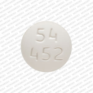 Lithium carbonate 300 mg 54 452 Front