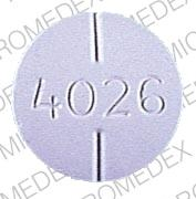 Methocarbamol 500 mg 4026