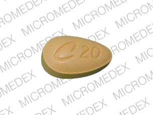 Pill Imprint C 20 (Cialis 20 mg)