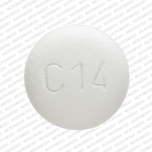 Benicar 20 mg SANKYO C14 Back