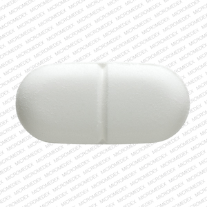 Acetaminophen and hydrocodone bitartrate 325 mg / 5 mg M365  Back