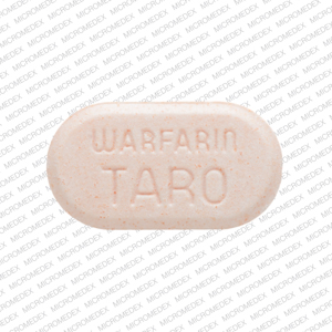 Warfarin sodium 5 mg 5 WARFARIN TARO Front
