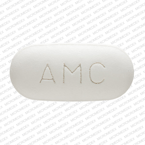 Amoxicillin and Clavulanate Potassium 875 125 AMC