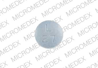 Lisinopril 30 mg M L 27 Front