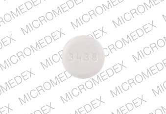 Selegiline hydrochloride 5 mg Logo 3438 Back