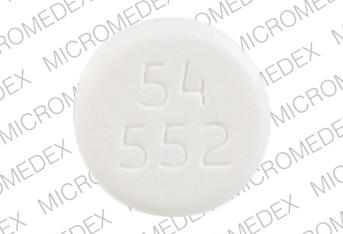 Pill Imprint 54 552 (Clotrimazole Troche 10 mg)