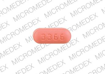 Zolpidem tartrate 5 mg WPI 3366 Back