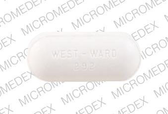 Methocarbamol 750 mg WEST-WARD 292  Front