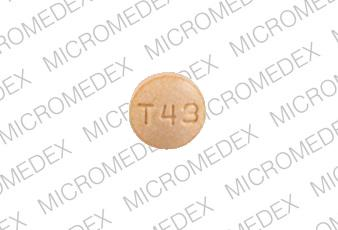 Trandolapril 4 mg M T43 Back