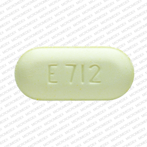 Pill Imprint E712 10/325 (Endocet 325 mg / 10 mg)