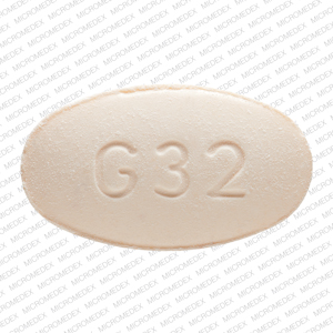 Naproxen 375 mg G32 375 Front