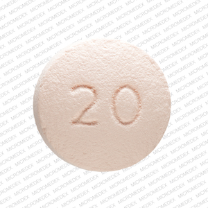 Oxycontin 20 mg OP 20 Back