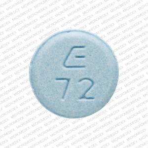Lovastatin 20 mg E 72  Back