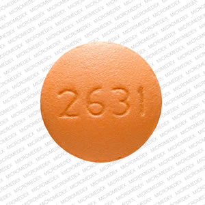 Cyclobenzaprine hydrochloride 5 mg V 2631 Back