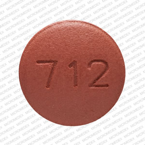 Topiramate 200 mg S 712 Back